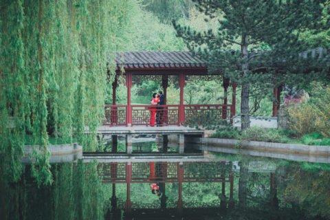 Trauungen in den Gärten der Welt – Joanna und Leonard