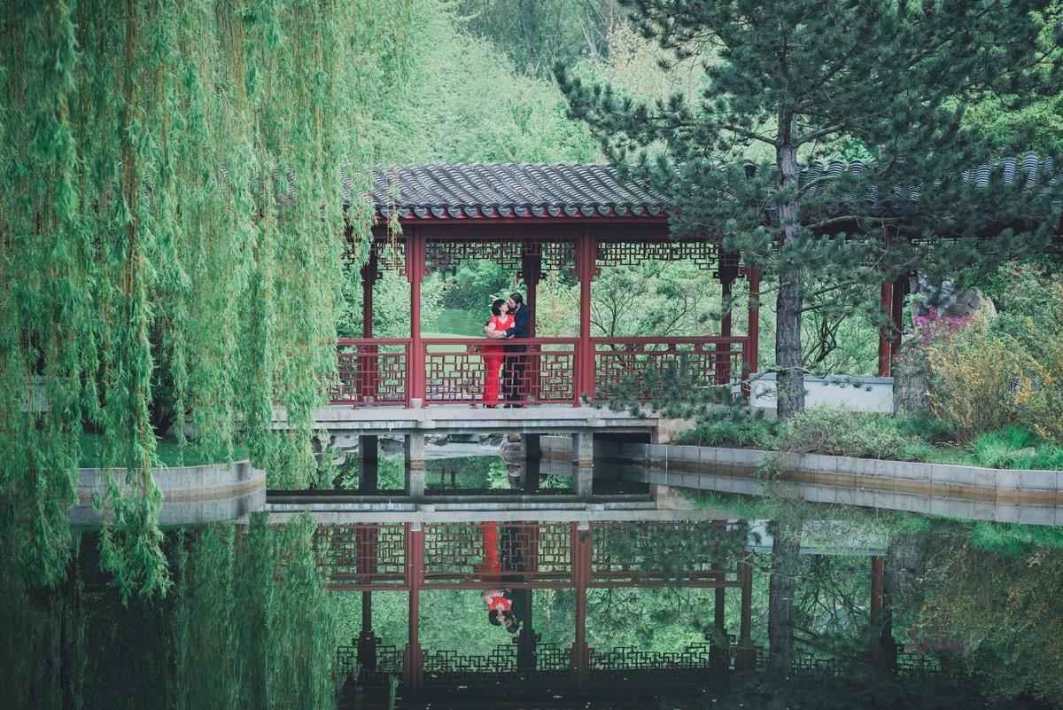 Trauungen Gärten der Welt – Joanna und Leonard