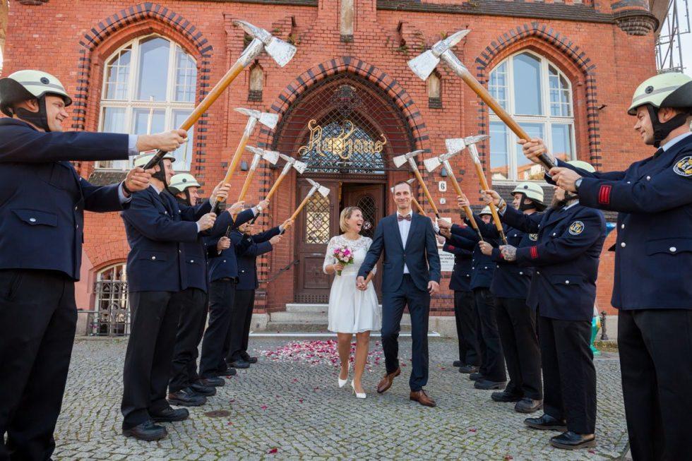 Standesamt Rathaus Lichtenberg – Steffi und Manuel