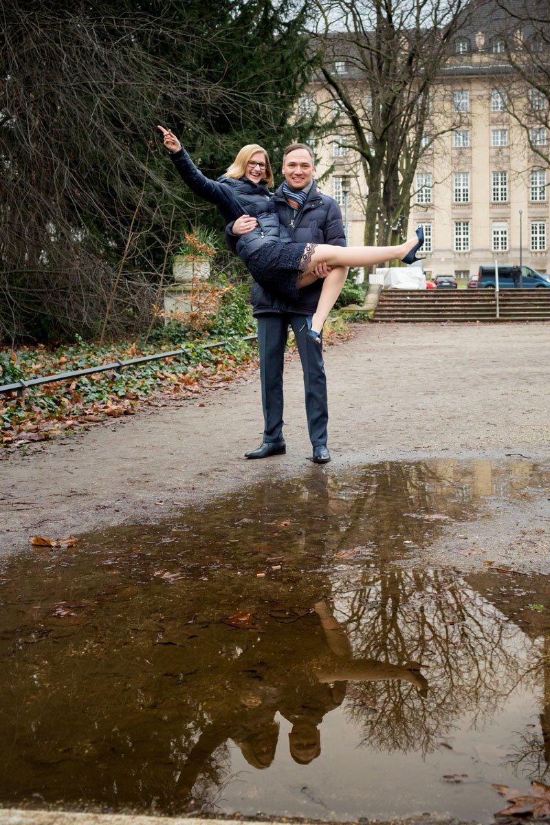 Standesamt Rathaus Schöneberg – Anna und Heiko