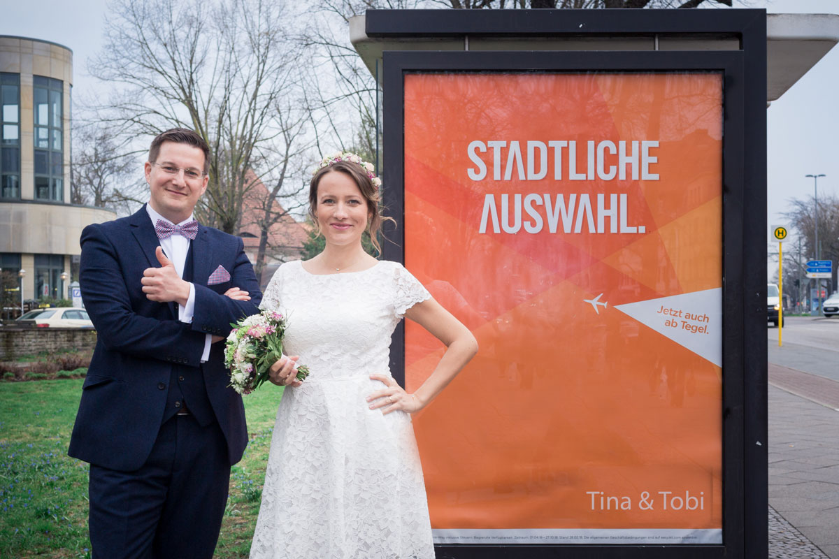 Tina und Tobi – Standesamt Hochzeitsvilla Zehlendorf