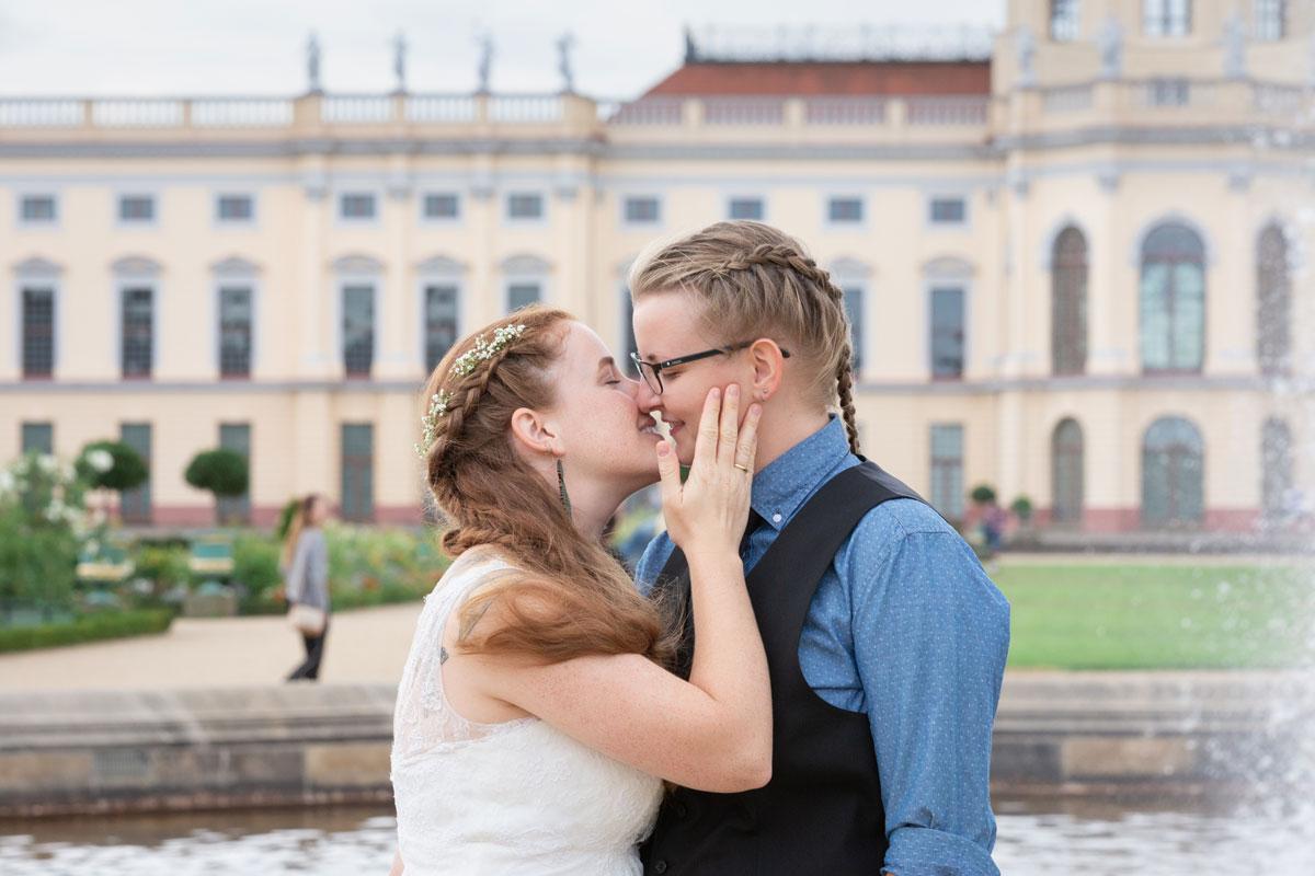 Standesamt Schmargendorf – Franziska und Katharina