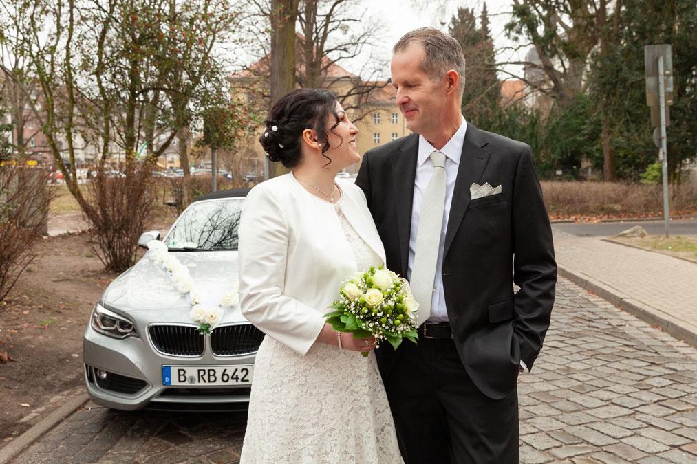 Standesamt Hochzeitsvilla Zehlendorf – Roja und Rainer