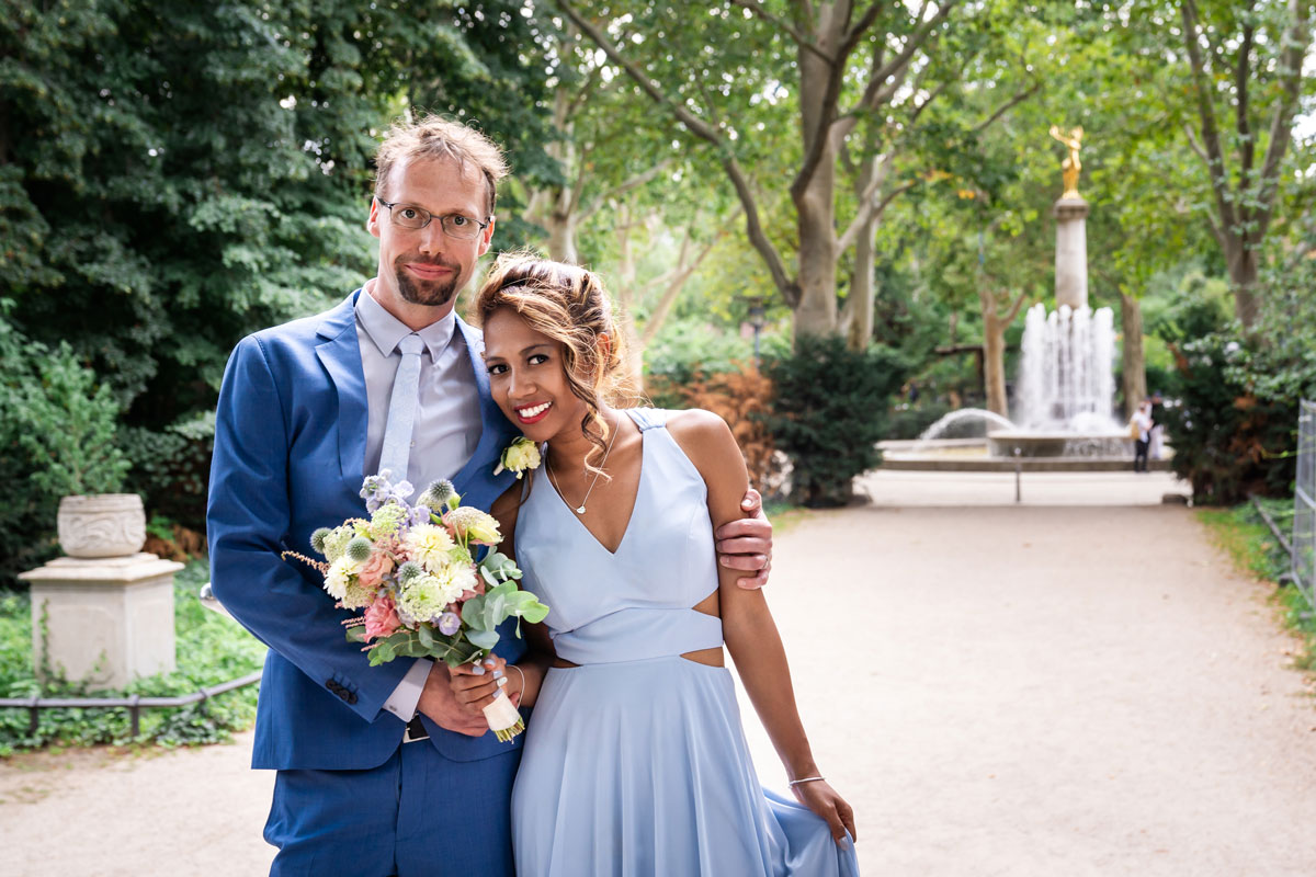 Standesamt Rathaus Schöneberg – Natacha und Mirko